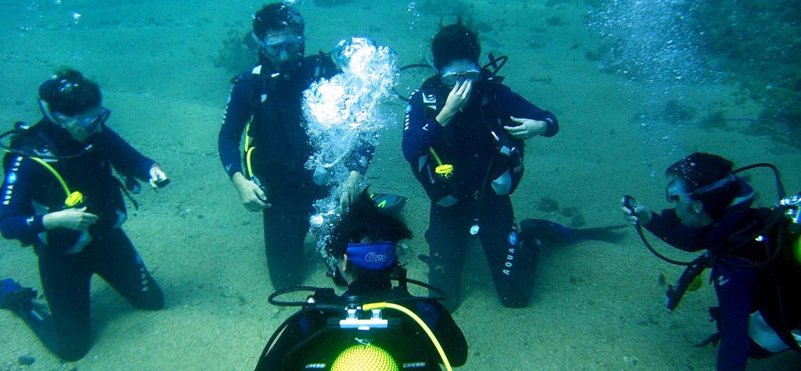 Scuba diving school in Marbella
