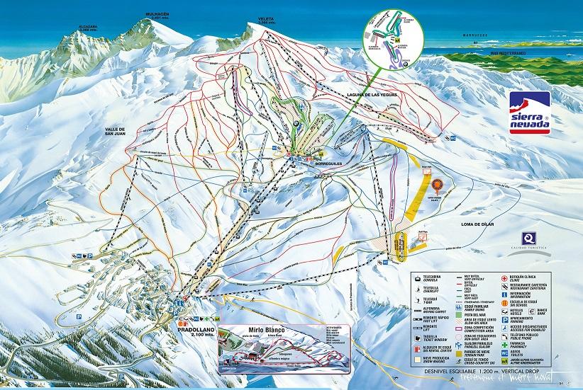 Skiing in Sierra Nevada MarbellaFamilyFuncom