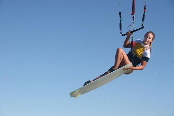 Kite surfing in Marbella