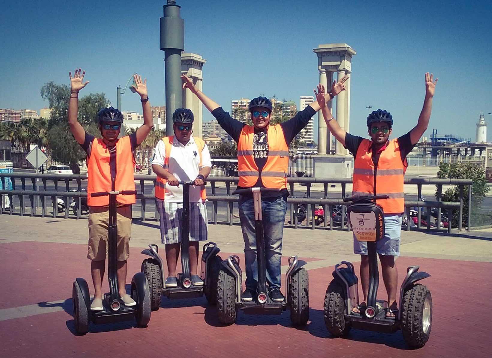 Segway Malaga Tours for families