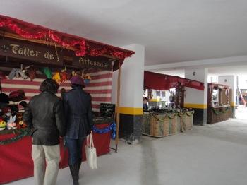 More stalls at Marbella Christmas market