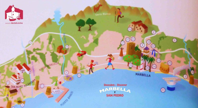 Marbella Graphic Map