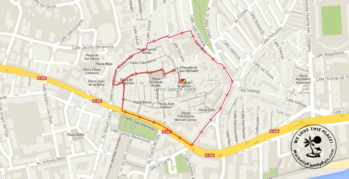 Marbella Easter Procession Schedule 22 March