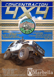 4x4 rally in Marbella