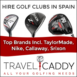 Golf club rentals on the Costa del Sol