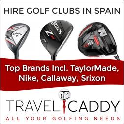 Golf club rentals on the Costa del Sol