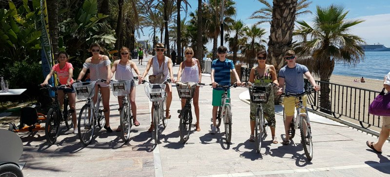Bike Rentals at G2 Marbella