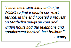Feedback on MarbellaFamilyFun.com