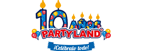 Party Land Logo