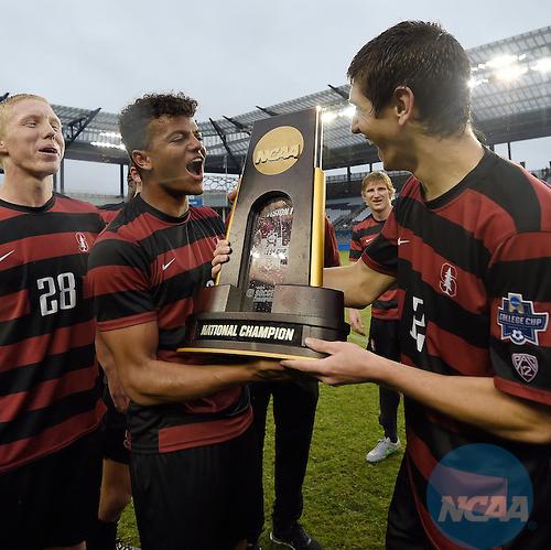 Stanford Men's NCAA 2015 DIV 1 Soccer Champions