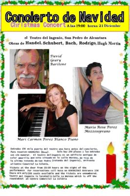 Details of the Christmas Concert