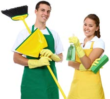 couple cleaners