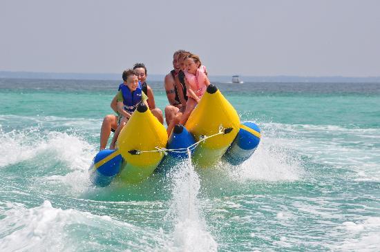 Beach activities in Marbella
