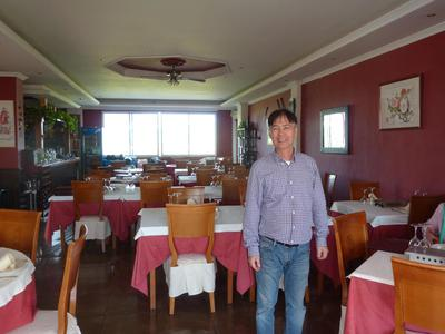 Alan, the long time promoter of Chinese Cuisine in Spain