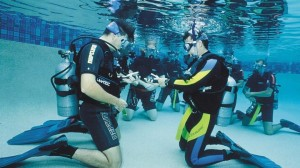 Scuba diving instructors in Marbella