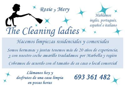 Rose & Mary | The Cleaning Ladies
