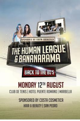 Bananarama & The Human League concert