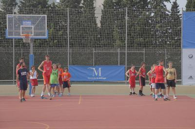 Basketball in Marbella for kids