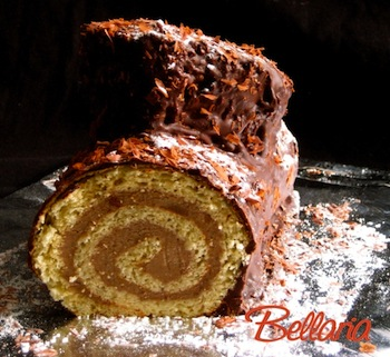 Bellaria Christmas log