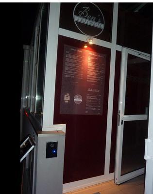 Ben's entrance