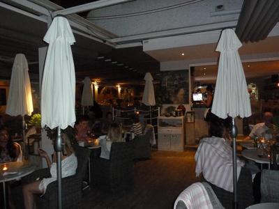 Boardwalk's dining room