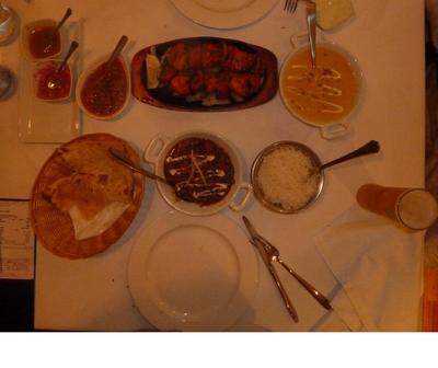 Mains at Bombay Grill