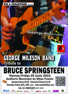 Bruce Springsteen Tribute Concert in Mijas - June 26, 2015