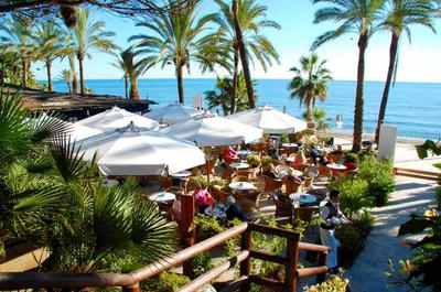Cappuccino Cafe in Marbella