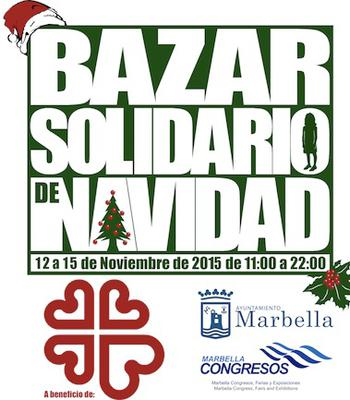 Christmas Charity Market Marbella - 12-15 November 2015