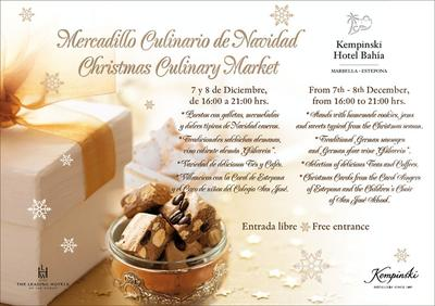Visit the unique Kempinski Bahia Christmas Market on Dec 7+ 8, 2012