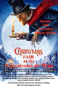 Christmas fair at Hipodromo in Mijas