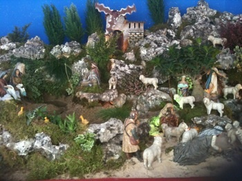 Nativity Scene in Marbella Chapel (Plaza de los Naranjos)