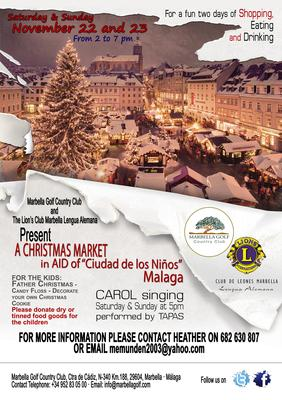 Marbella Golf Club Christmas Market