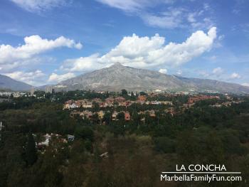La Concha over Marbella