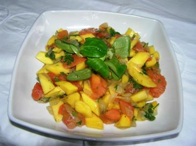 fruit and seed salad