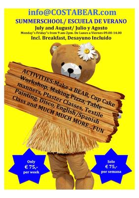 Costa Bear Marbella summer camp