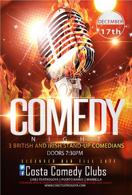 Our first Comedy Night