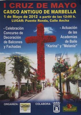 Cruz de Mayo celebration and Balcony Decorating Contest
