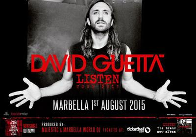 David Guetta Marbella 2015