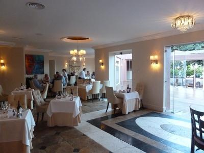 the extended dining room