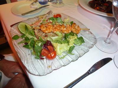 Inca Pawn salad