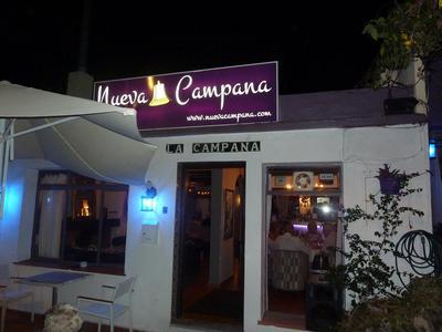 The newly refurbished Nueva Campana