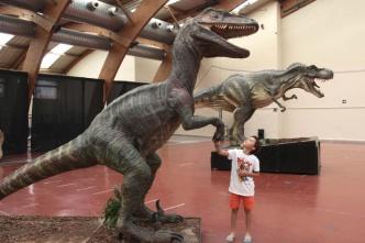 Dinosaur exhibit Marbella