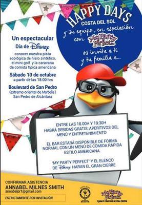Disney Event in Marbella