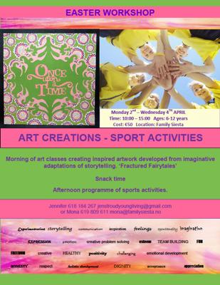Easter Art & Sport Club
