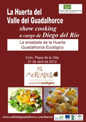 Ecological cooking show La Huerta Guadalhorce