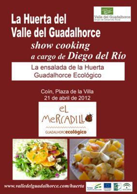 Ecological cooking show La Huerta Guadalhorce