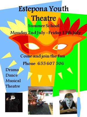Estepona Youth Theatre summer drama camp