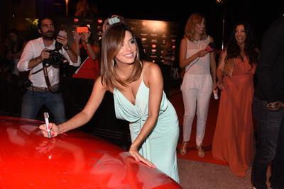 Eva Longoria at a Marbella Event