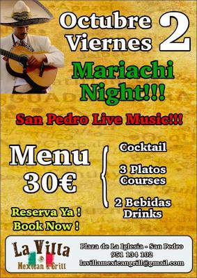 Mariachi Night at La Villa